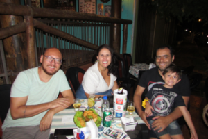 Humberto Alves, Douglas Oliveira/Taísa Mendonça e o filho Rafael Oliveira