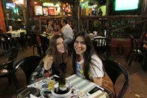 Yannina Zanela e Jéssica Motta