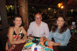 Renato Galdiano/Valdet e a amiga Vera Lúcia Jorge