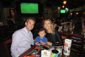 Vitor Magno/Tarsilla e o filho Marcelo Magno