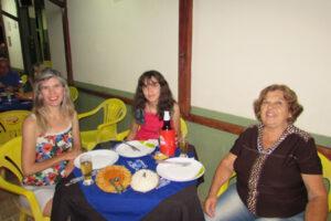 Cláudia Cruz, Laura Cruz e Adélia Carvalho Cruz
