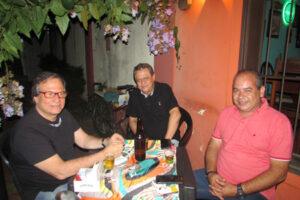 Walter Gama Terra Júnior, Eder Rocha e Fábio Gibaile