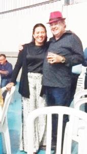 ESTEVAN E NEUZA Dia 28 de julho, comemoram 36 anos de casados, Bodas de Cedro, o funcionário público do Tribunal de Justiça de São Paulo, Estevam Bernardo Cheruti Galindo e a professora Neusa Godoy Galindo. Eles recebem os parabéns dos filhos Stêneo Godoy Galindo, casado com Ana Carolina da Silva Dias Galindo; Estevan Bernardo Godoy Galindo e Stefania Godoy Galindo, dos netos Anna Clara Godoy Galindo Pacheco dos Santos, João Pedro Dias Galindo e Maria Fernanda Dias Galindo, dos familiares e amigos