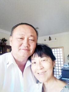 Aparecido e Edna Comemorou 34 anos de casado, Bodas de Oliveira, dia 25 de julho, o casal Aparecido Yoshiuki Kubo e Edna Nakamura Kubo. Eles recebem os parabéns dos filhos Arthur Nakamura Kubo e Dra. Laura Nakamura Kubo, dos familiares e amigos
