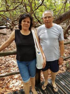 LILIAN E GERSINO Dia 5 de setembro, comemoram 51 nos de casados, Bodas Bronze, a professora e ex-vereadora Lilian Nauyta Vidal Pistori e o contador Gercino Pistori. Eles recebem os parabéns  dos familiares e amigos